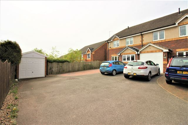 Thumbnail Semi-detached house to rent in Park Hill Gardens, Swallownest, Sheffield, Rotherham