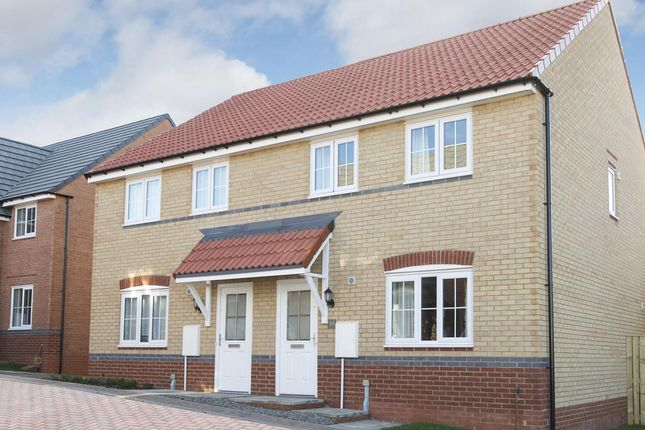 """Thumbnail Semi-detached house for sale in """"Finchley"""" at Bruntcliffe Road, Morley, Leeds"""