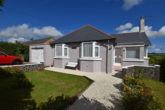 Thumbnail Detached bungalow for sale in Groudle Road, Onchan