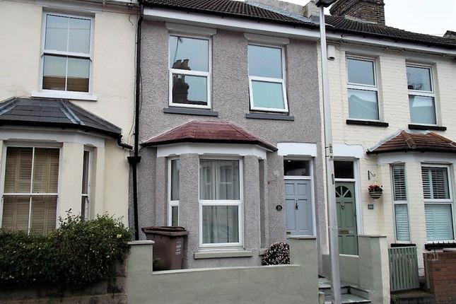Terraced house for sale in Rochester Avenue, Rochester