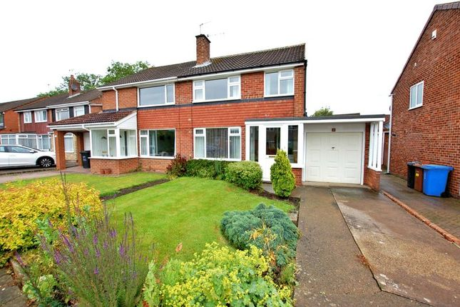 Thumbnail Semi-detached house to rent in Ladywell Way, Ponteland, Newcastle Upon Tyne