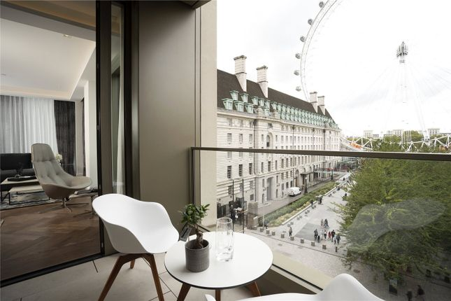 Thumbnail Flat to rent in Belvedere Road, Southbank Place, Waterloo, London