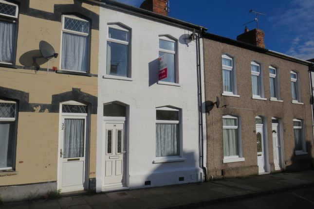 Thumbnail Terraced house for sale in Bell Street, Barry