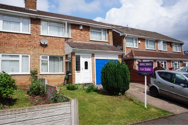 Thumbnail Semi-detached house for sale in Rhone Close, Birmingham