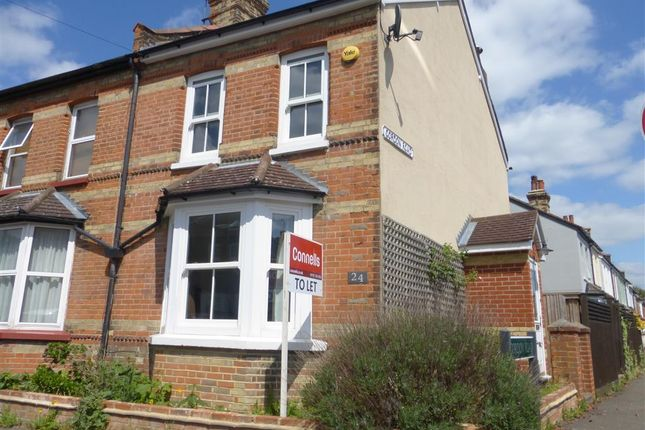 Thumbnail Semi-detached house to rent in Osborne Road, Redhill