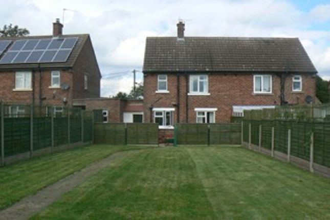 Thumbnail Semi-detached house to rent in Moor Lane, Branston Booths, Lincoln, Lincolnshire.