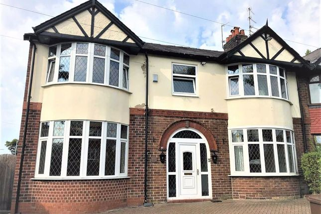 Thumbnail Semi-detached house to rent in Park Road, Prestwich, Manchester