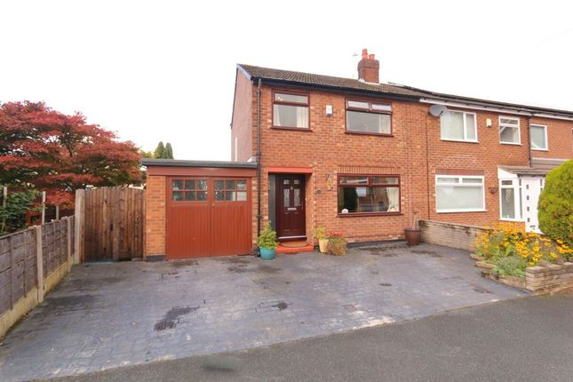 Thumbnail Semi-detached house for sale in Brierley Close, Denton, Manchester