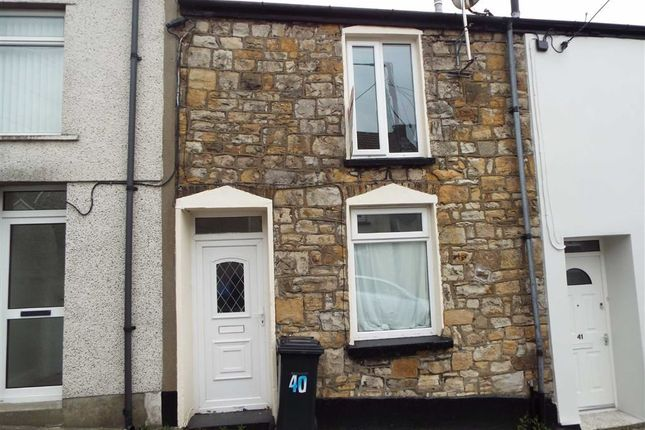 Thumbnail Terraced house to rent in Broad Street, Dowlais, Merthyr Tydfil