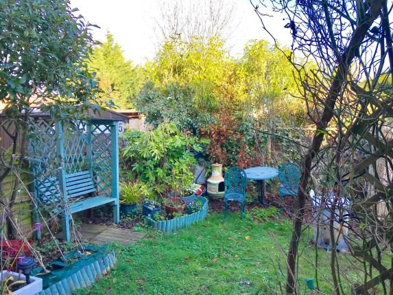 Garden of Warnford Road, Southbourne, Bournemouth BH6