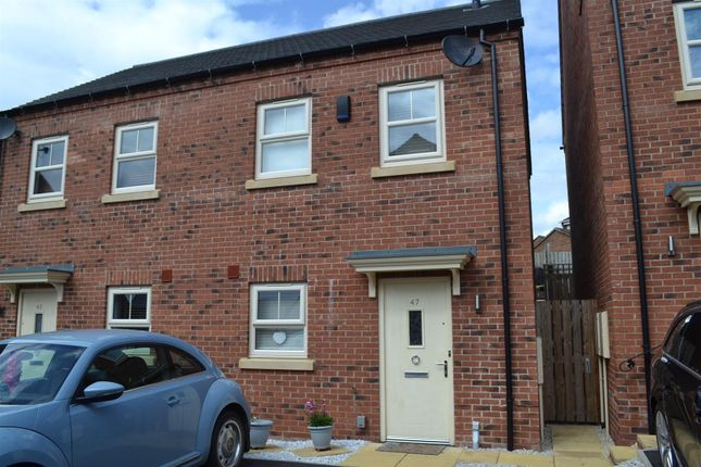 Thumbnail Semi-detached house for sale in Rowan Drive, Midway, Swadlincote