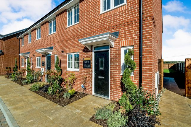 Thumbnail End terrace house for sale in Main Street, Grendon Underwood, Aylesbury