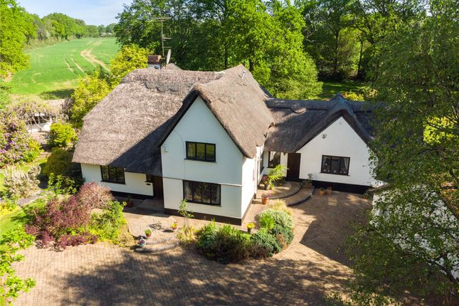 Thumbnail Detached house for sale in Holywell Road, Studham, Dunstable, Bedfordshire