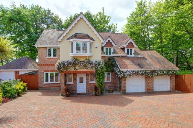 Thumbnail Detached house for sale in Woodlands Grange, Rownhams, Hampshire