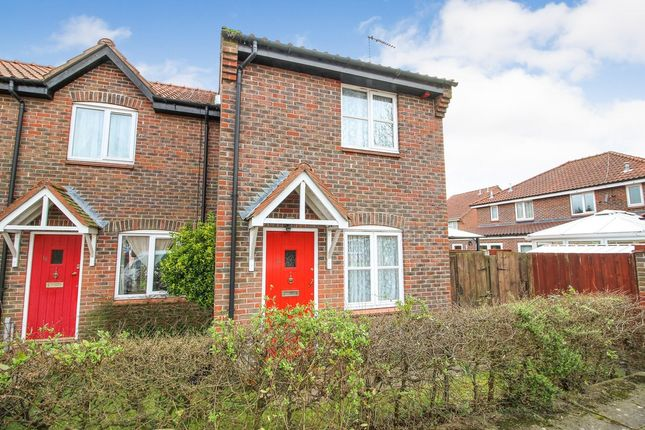Thumbnail End terrace house to rent in Springfield, Acle, Norwich