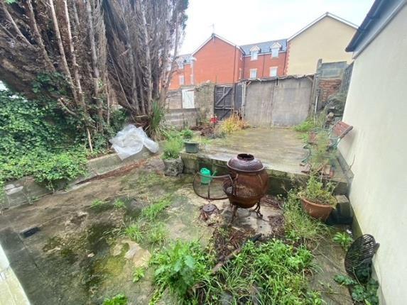 Rear Garden of Llantrisant Street, Cardiff, Caerdydd CF24