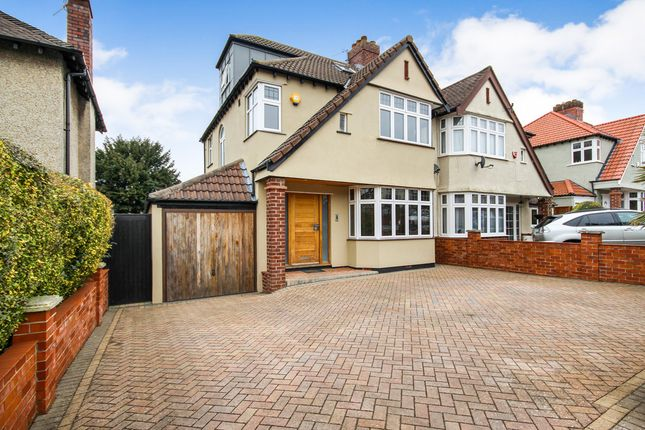 Thumbnail Semi-detached house for sale in Roman Way, Stoke Bishop, Bristol