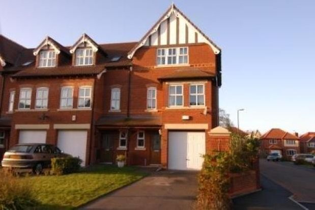 Thumbnail Town house to rent in Larton Farm Close, West Kirby, Wirral