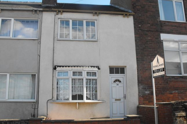 Thumbnail Terraced house to rent in Burnell Street, Brimington, Chesterfield