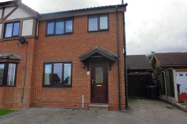 Thumbnail Semi-detached house for sale in Spring House Close, Ashgate, Chesterfield