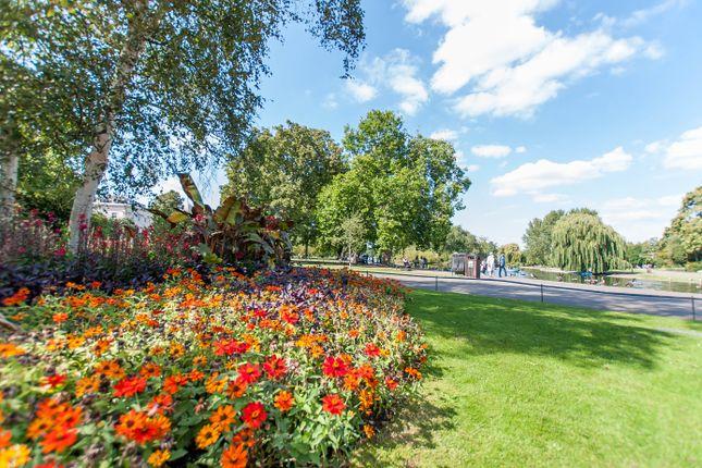 Regent's Park  of Lisson Grove, Marylebone, Central London NW1