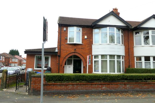 Thumbnail Semi-detached house to rent in Wellington Road, Fallowfield, Manchester