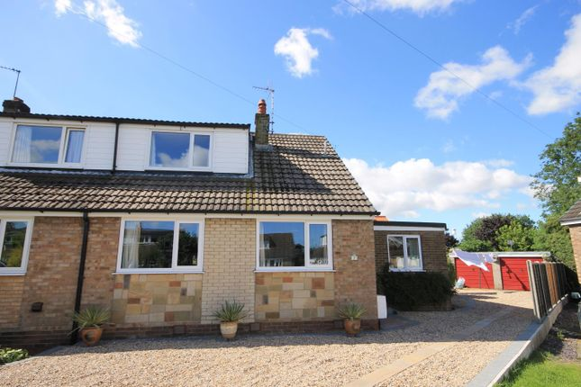 Thumbnail Semi-detached house for sale in Vikings Court, Brompton, Northallerton