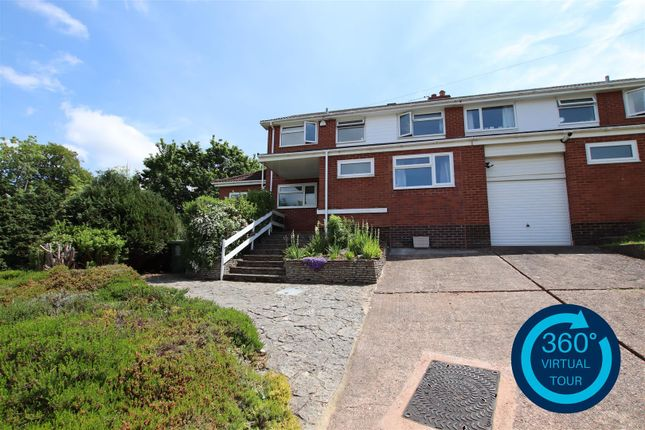 Thumbnail Semi-detached house for sale in Byron Road, Exeter