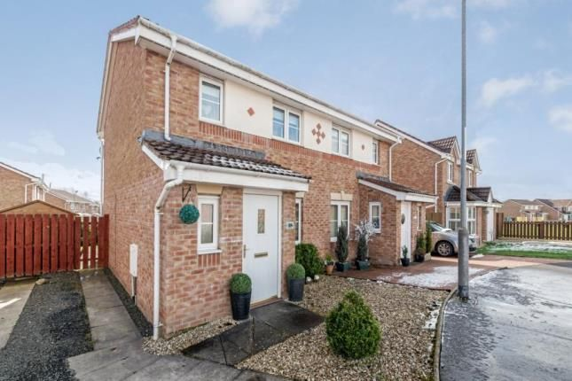 Thumbnail Semi-detached house for sale in Connell Grove, Wishaw, North Lanarkshire