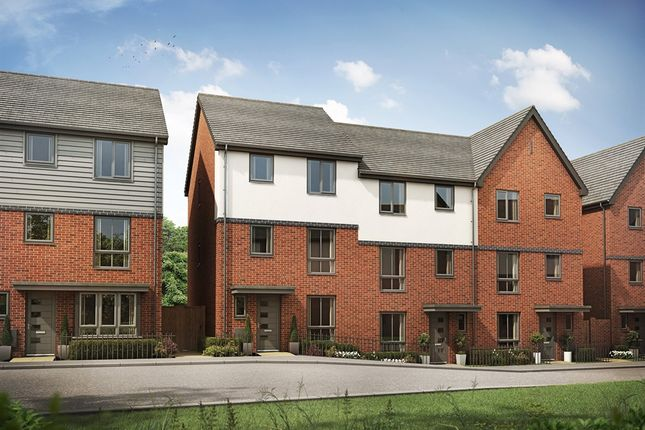 "Thumbnail Town house for sale in ""The Harborne"" at Chadwick Close, Rednal, Birmingham"