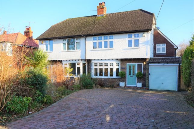 Thumbnail Semi-detached house for sale in Vicarage Road, Crawley