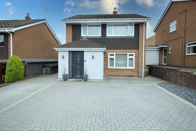 Thumbnail Detached house for sale in Forest Close, Coed Eva, Cwmbran