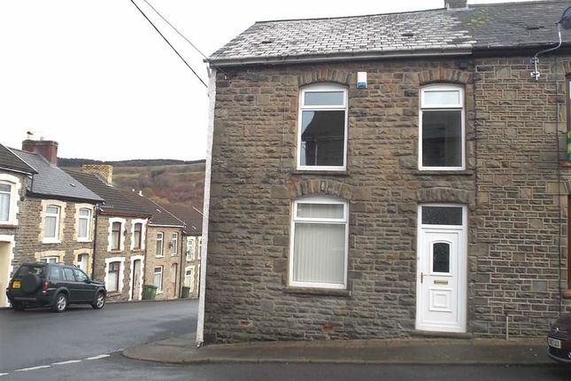 Thumbnail End terrace house to rent in Crawshay Street, Ynysybwl, Pontypridd