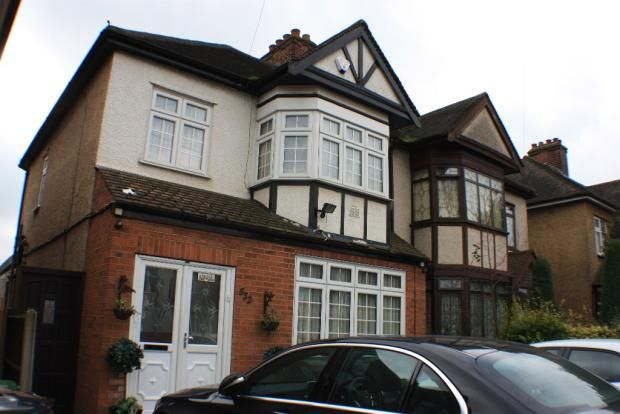 Thumbnail End terrace house for sale in High Rd, Romford