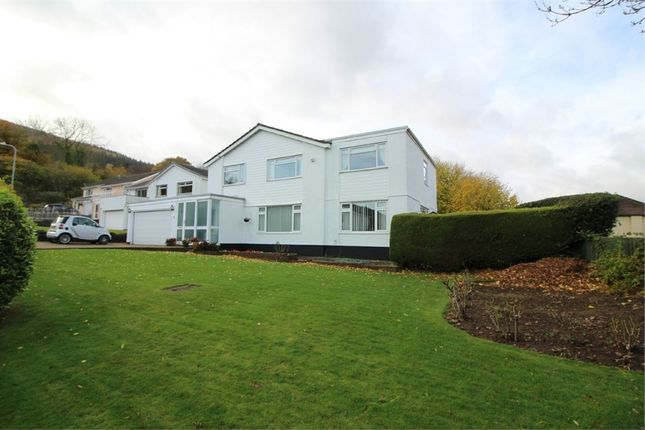 Thumbnail Detached house for sale in Llanwenarth Road, Govilon, Abergavenny, Monmouthshire