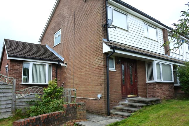 Thumbnail Semi-detached house for sale in Fernlea Drive, Clayton-Le-Moors, Accrington