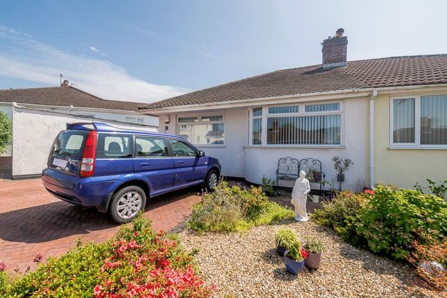 Thumbnail Bungalow for sale in Woodford Crescent, Plympton, Plymouth