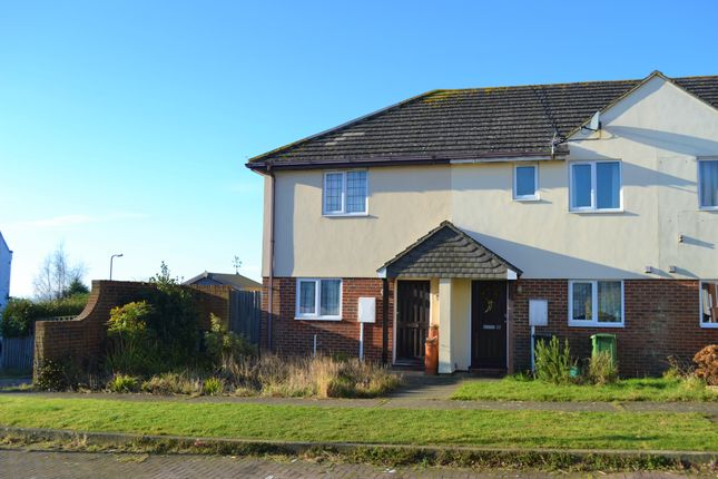 Thumbnail End terrace house for sale in Hilltop Drive, Rye