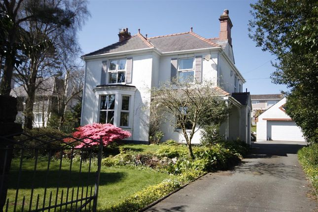 Thumbnail Detached house for sale in Miradlyn, Glanwhfa Road, Llangefni
