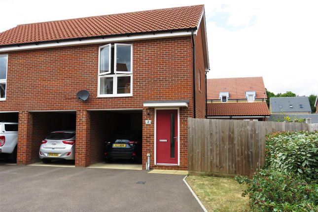 2 bed flat to rent in Red Admiral Close, Costessey, Norwich NR8