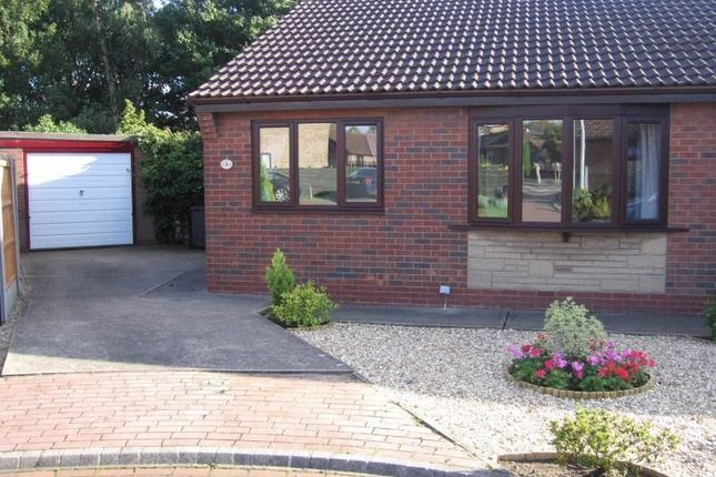 Thumbnail Bungalow to rent in Hallbrook Court, Bottesford, Scunthorpe