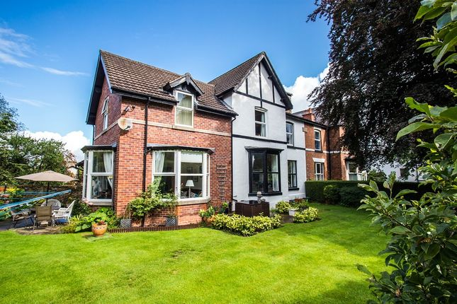 Thumbnail Semi-detached house for sale in Station Road, Marple