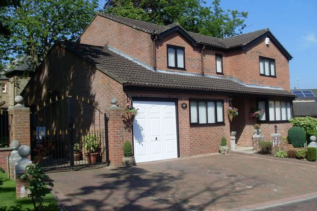 Thumbnail Detached house for sale in Vicarage Close, Howden Le Wear, Crook
