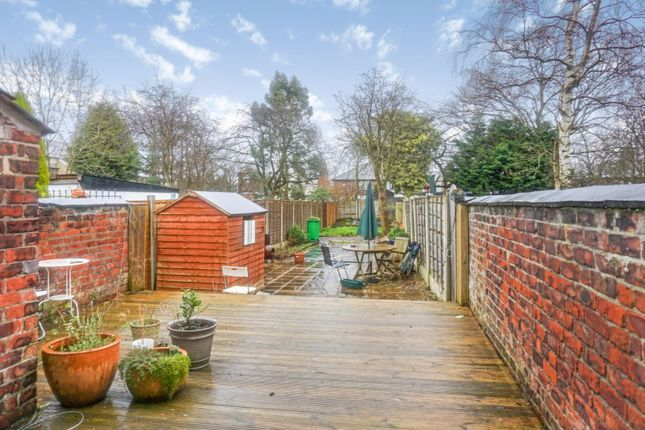 Garden of Parkfield Road North, New Moston M40