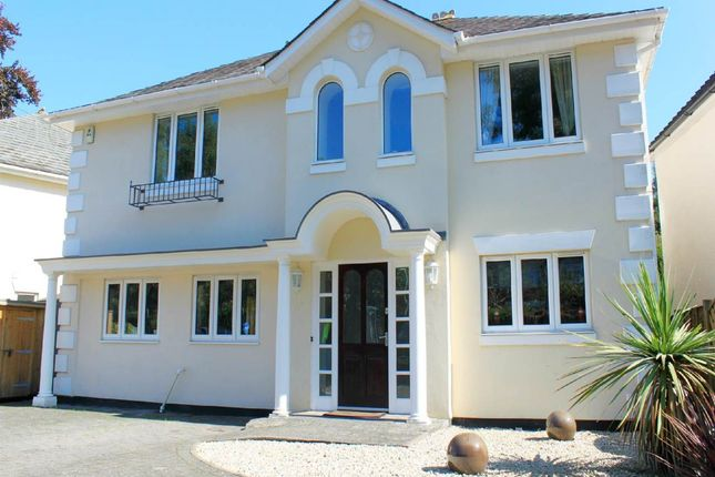 Thumbnail Detached house to rent in Compton Avenue, Lilliput, Poole