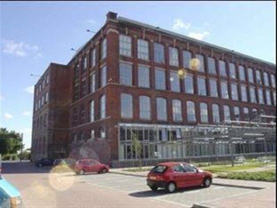 External of Centenary Mill, New Hall Lane, Preston PR1