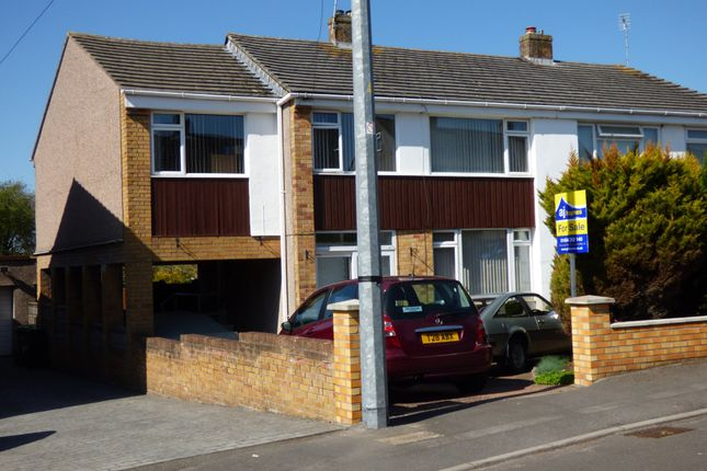 Semi-detached house for sale in St. Peters Crescent, Frampton Cotterell, Bristol