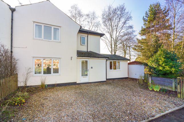 3 bed semi-detached house for sale in Beech Avenue, Culcheth, Warrington