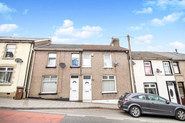 Thumbnail Terraced house for sale in Ty Brachty Terrace, Crumlin, Newport