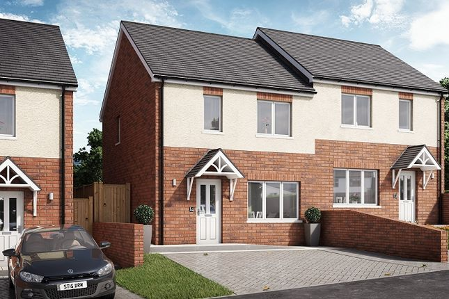 Thumbnail Semi-detached house for sale in Willow, Plot 13 Waunsterw, Rhydyfro, Pontardawe.